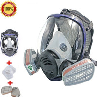 Full Face Respirator Gas Mask Breather Anti dust Anti Organic Gas Safety Mask for Industry Painting Spraying Gas Mask