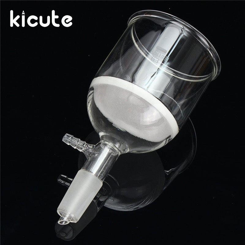 Kicute Brand New 350ml Filter Funnel Buchner 24/40 Joint Buchner Glass Funnel Lab Glassware Chemistry School SuppliesKicute Brand New 350ml Filter Funnel Buchner 24/40 Joint Buchner Glass Funnel Lab Glassware Chemistry School Supplies