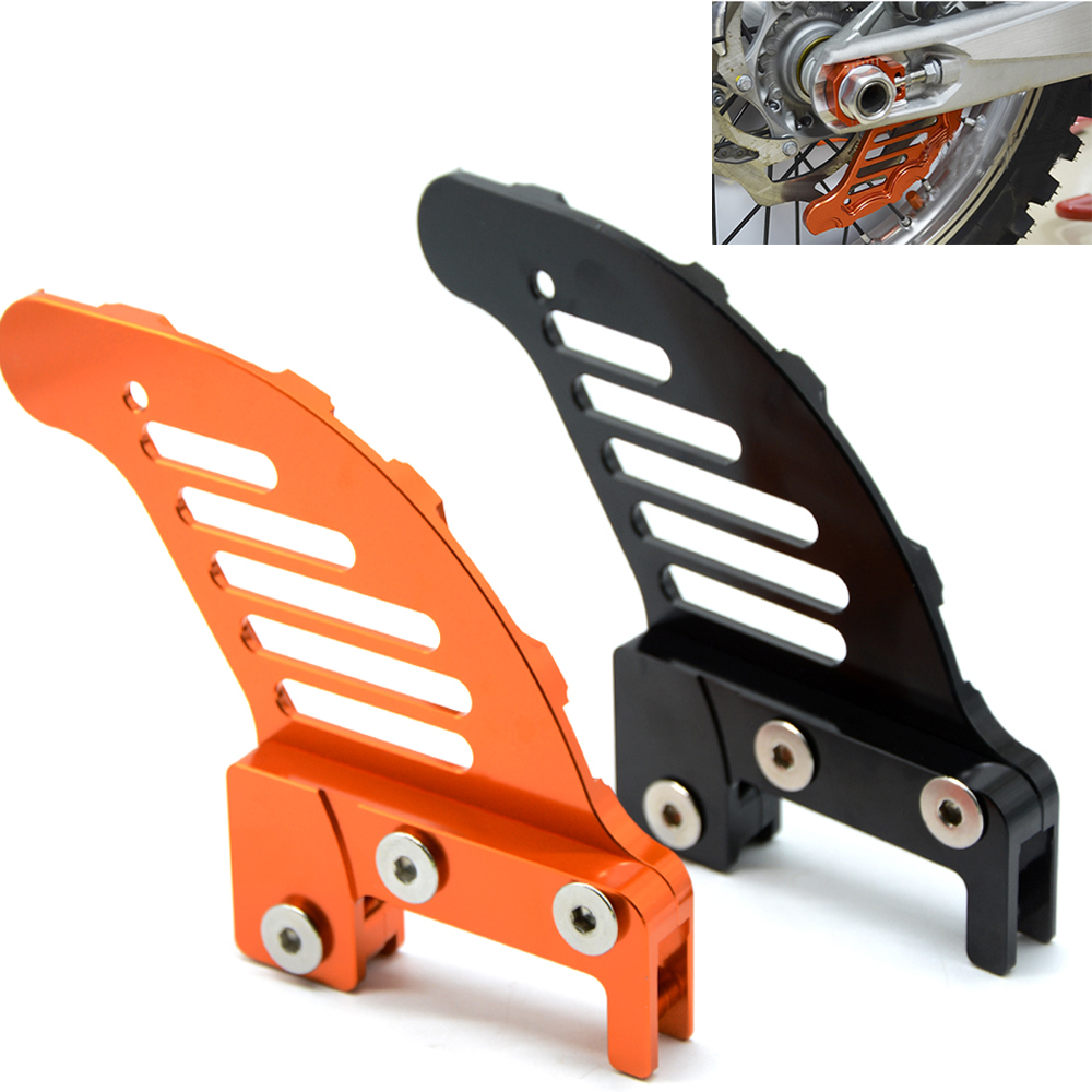 Motorcycle accessories cnc aluminum Rear brake disc guard potector FOR KTM 350 EXC F/XCF 450 505 SX F 525 EXC 540 SX 530 XCW 250