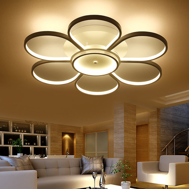 living room ceiling light fixture aliexpress buy surface mounted ceiling lights led 21871