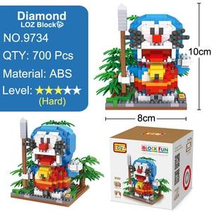 Image 3 - LOZ Конструктор Игрушка Doraemon фигурку аниме алмаз игрушка для детей в возрасте 14 + официальный уполномоченный подарок день рождения