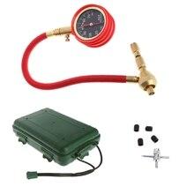 Tyre Tire Air Pressure Gauge Meter Tester for Motor Vehicle Car Truck Bike Van #0616