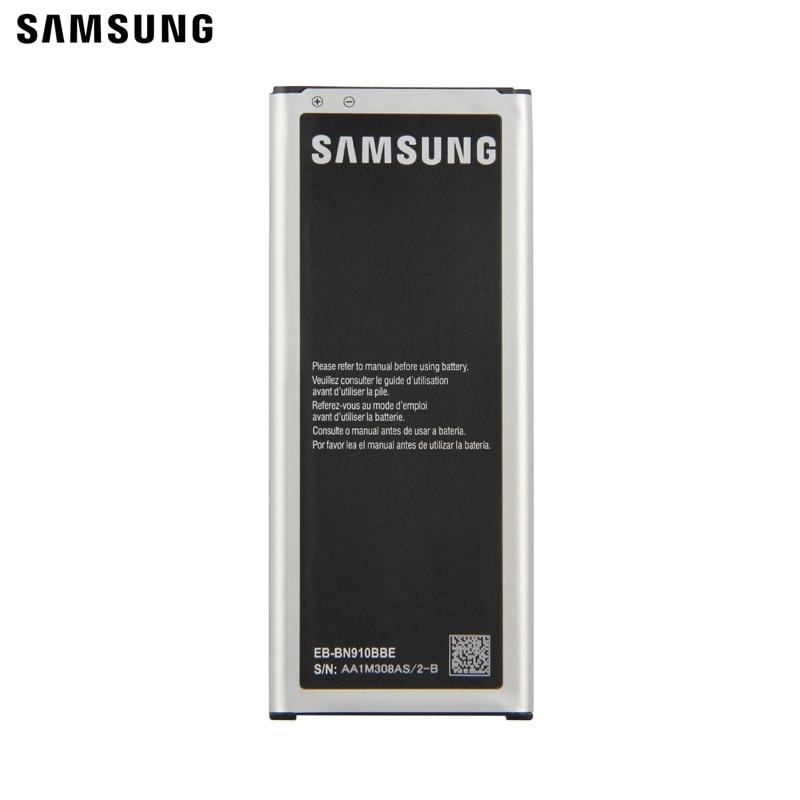 Samsung Original Battery EB BN910BBE EB BN910BBK For Samsung GALAXY NOTE4 N910F N910H N910V N910C N910a N910u NOTE 4 3220mAh in Mobile Phone Batteries from Cellphones Telecommunications