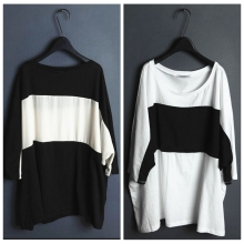 цены Uriysrxu loose plus size color block batwing sleeve o-neck shirt short-sleeve T-shirt batwing t-shirt male