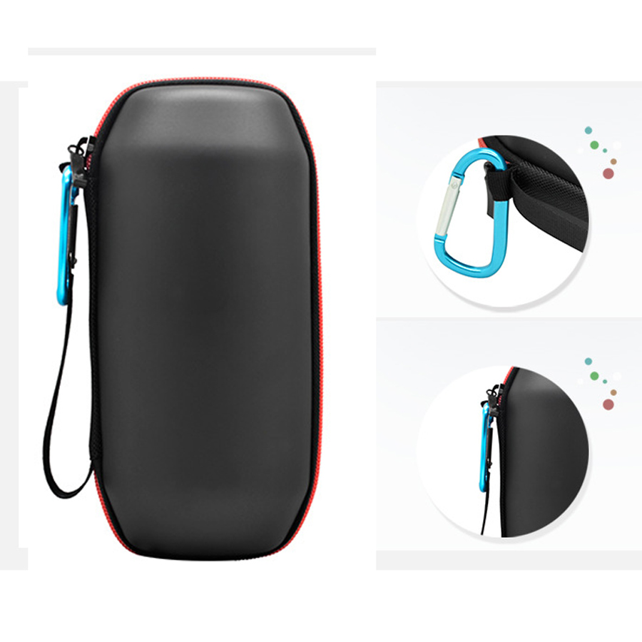Newest Travel Protective EVA Leather Case for JBL Pulse/UE BOOM Bluetooth Speaker Carry Pouch Bag Cover Case Zipper Carry Box