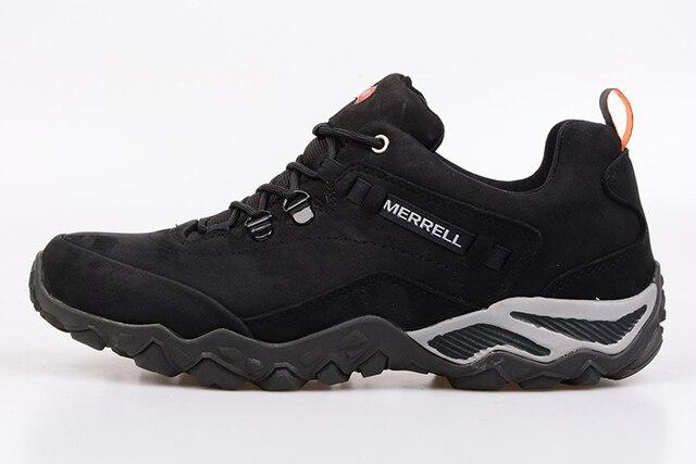 a39f0dcaf08ce9 FILA Pria Outdoor Profesional Hiking Sepatu Stabilitas Anti-Slip Sepatu  Berjalan Trekking Sepatu Olahraga Pria