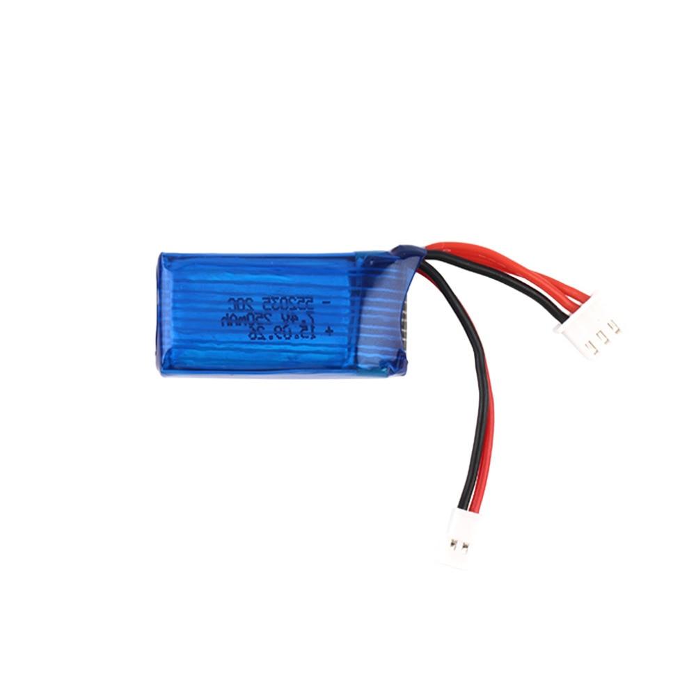 2pcs/lot 7.4V 250mAh 20C 2S Losi Micro SCT 1/24 Short Card Battery For Mini Remote Control Car 1/24 Rc Mini Helicopter
