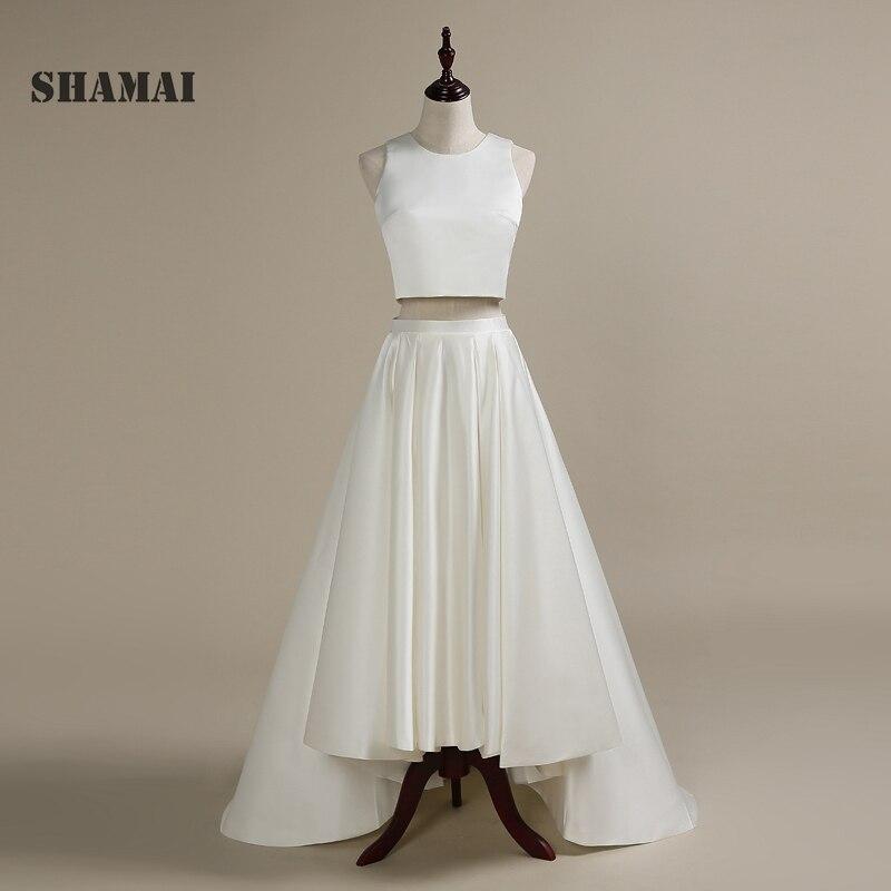 20872a3ecfaeb SHAMAI حفلة موسيقية اللباس 2019 جديد الاتجاه المحاصيل أعلى العروس ...
