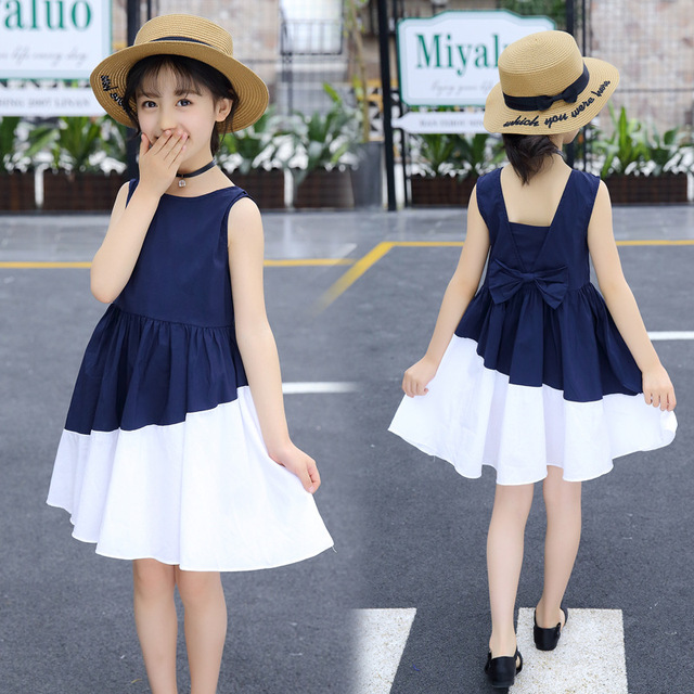 Summer Kids Dresses for Girls 6 8 10 12 Years Casual Lady Girl Princess Dress Teenagers Girls Clothing Kids Costumes Clothes