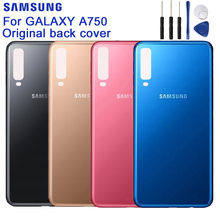 SAMSUNG Original Back Battery Door Rear Glass Case For Samsung Galaxy A7 2018 version SM-A730x A730x SM-A750 Phone Backshell
