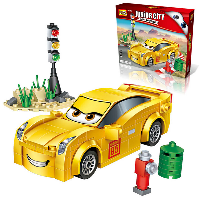 small particle assembling blocks can slide children 39 s toys mini racing diy creative toys With legoINGly in Blocks from Toys amp Hobbies