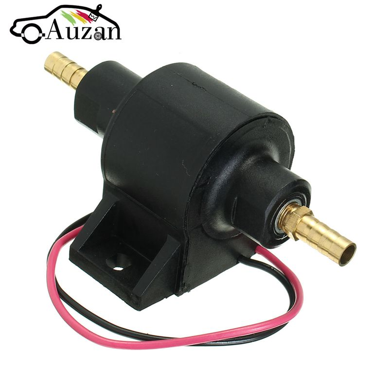 New Universal Low Pressure Car Van 12V Electric Diesel/Petrol/Fuel Pump Posi Facet Flow Style 8mm electronic fuel pump hep 02a 12v 24v car modification gas diesel low pressure petrol for motorcycle toyota ford yanmar nissan
