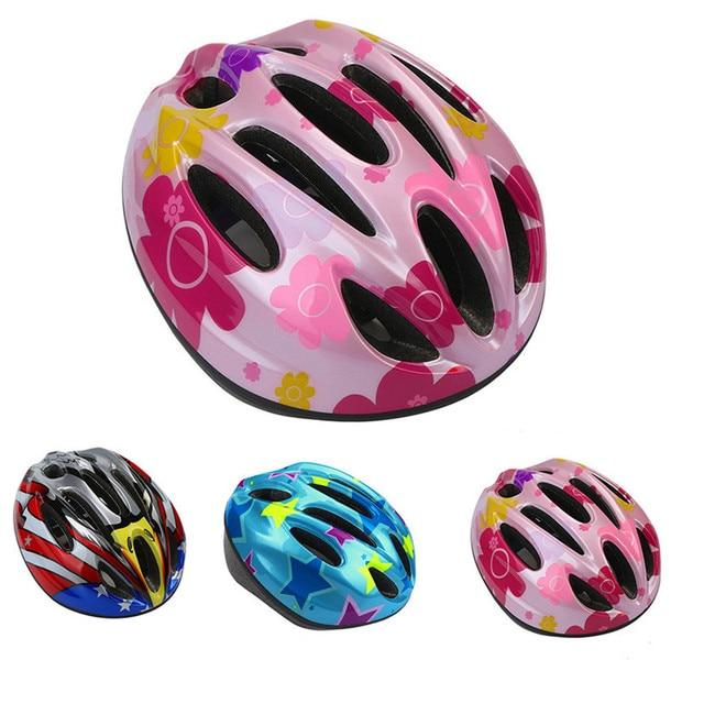 Bicycle Helmets Safety Child Matte Black Girl Boy Bike Helmet Mountain Road Bike Integrally Molded Cycling