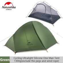 Naturehike Camping Single Ultralight Tent Portable Double-layer Professional Outdoor Riding Wild Waterproof Anti-rainstorm