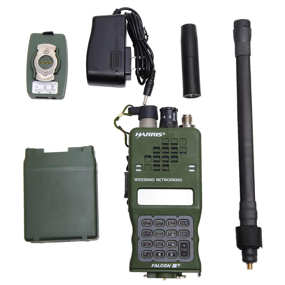 TCA AN/PRC-152A(UV) IPX7 Tactical CS VHF UHF Dual Band Military Walkie  Talkie Sister TRI HARRIS PRC 152 MBITR Portable Radio