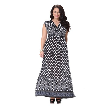 66009f5707f82 Petra – Cool Flowing Maternity bohemian style Maxi Printed Dress – Plus Size
