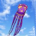 O envio gratuito de alta qualidade pipas 30 m mapa do mundo grande macio polvo pipa carretel de nylon ripstop parachute brinquedos voadores ar quente balão