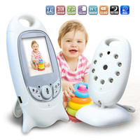 Jeatone 2 Inch Baby Monitor Support 2 Way Talk Temperature Monitoring And Feeding Time Reminder Music