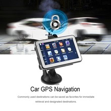 886 560 HD Car Truck GPS Navigation 256M+8GB Reversing Camera Touchscreen FM Navigator Accurately Position Black