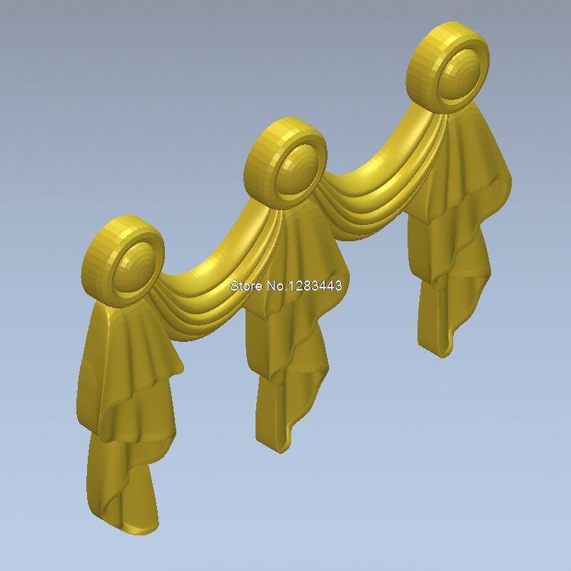 High Quality New 3D Model For Cnc 3D Furniture Decoration 3D Carved Figure Sculpture Machine In STL File Decor_111