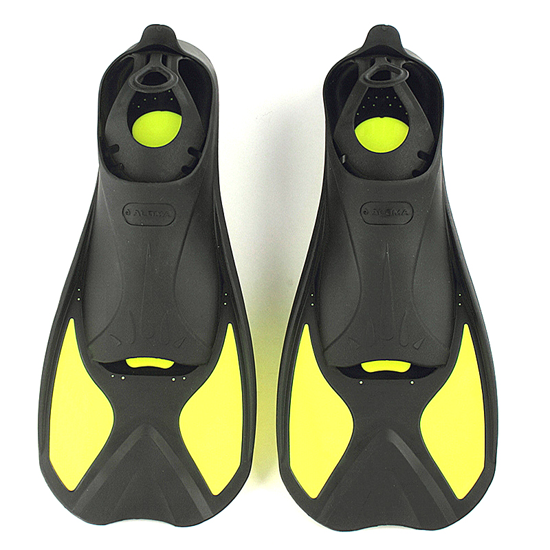 Aletas de natación de buceo Snorkeling para adultos/niños aletas de natación de comodidad Flexible