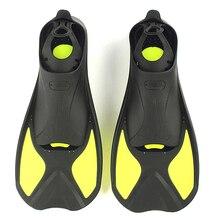 Dalış dalış yüzme yüzgeçleri yetişkin/çocuk esnek konfor yüzme yüzgeçleri dalgıç ayak çocuk yüzgeçleri Flippers su sporları