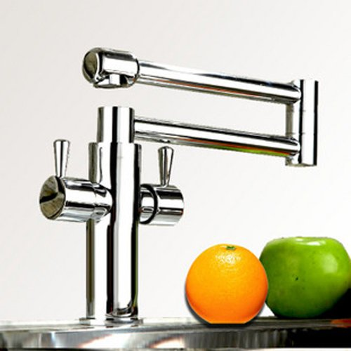 Free Shipping tap out with 360 degree folding basin faucets kitchen mixer tap faucets for the