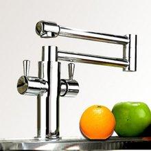 Бесплатная Доставка! из крана с 360 градусов складной. бассейна смесители кухня смеситель. смесители для кухня кухня sink.1pcs/lot
