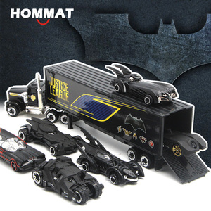 HOMMAT Hot Weels 1:64 Scale Hot wheel Track Batman Batmobile Model Car Alloy Diecasts Toy Vehicles Car Model Toys For Children(China)