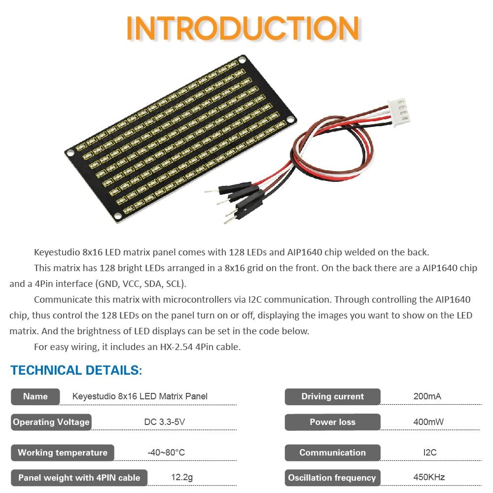 KS0357  8x16 LED   (2)