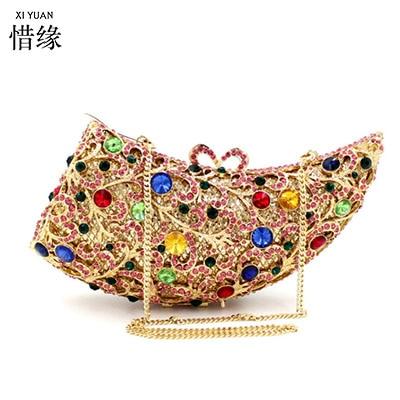 Soirée Bourse Argent D'or Xiyuan Feminina Sacs Bolsa Luxe Diamant Portefeuilles Marque Mini Main Nouveau argent Solide Sac D'embrayage Or Mariée De À 2017 7qxYOPvq