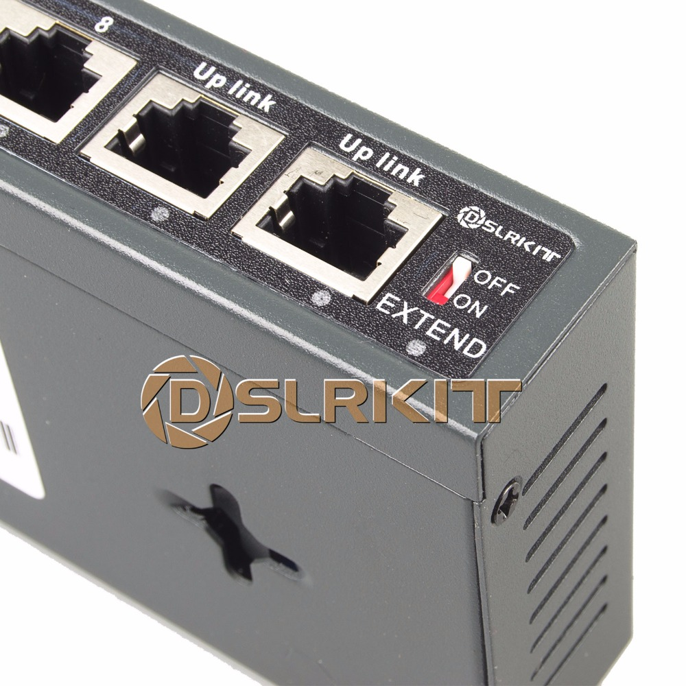 DSLRKIT 10 პორტი 8 PoE შეცვლა - ქსელის აპარატურა - ფოტო 4