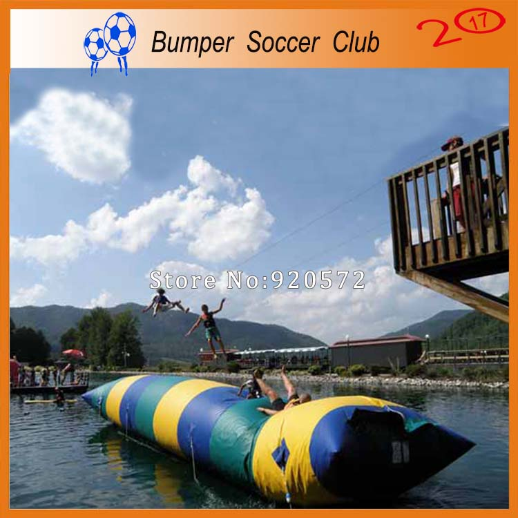 Free Shipping ! Free Pump ! 10x2m Water Blob,Water Trampoline ,Inflatable Water Pillow For Sale
