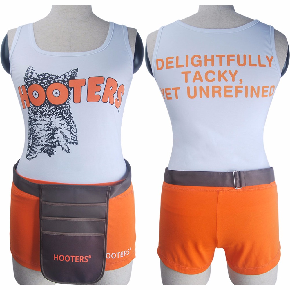 Hooters Girl Costume For Guys