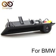 Sinairyu CCD HD Visão Traseira Do Carro Câmera de Segurança Do Veículo para BMW F10 F25 3 Series 5 Series X3 Tronco Lidar Com Bloqueio de Inicialização interruptor