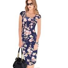 a90def76bb Moda vestido flor imprimir ropa barata China verano vintage partido mujeres  vestidos de festa mujer casual