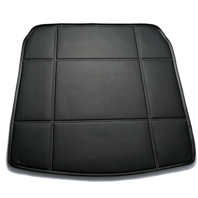 Custom fit Car Trunk mat for Ford fiesta focus fusion mondeo Ecosport kuga Escape edge Explorer s-max  tail box floor tray liner