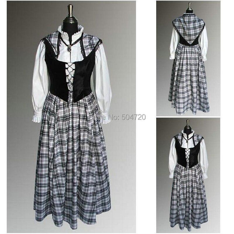 Custom MadeR 635 Vintage Costumes 1860s Civil War Southern