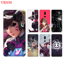 Overwatchs OW D.VA New Phone Back Case For OnePlus 7 Pro 6 6T 5 5T 3 3T 7Pro 1+7 Art Gift Patterned Customized Cases Cover Coque