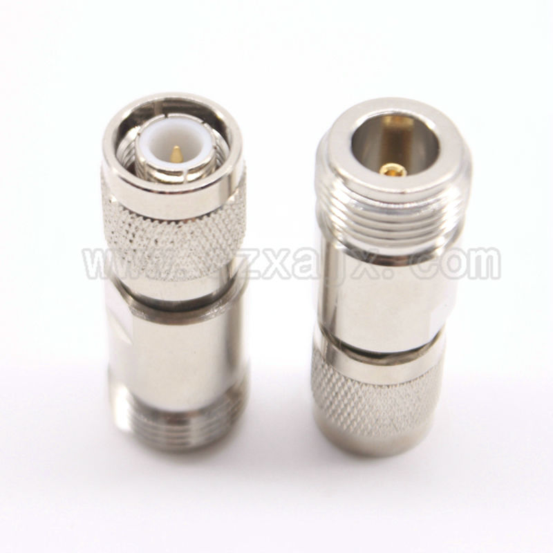 RF coaxial connector TNC male to N female adapte straight free shipping sf4011 60022 rf accessories tnc cap wire assy mr li