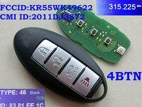 RMLKS 2006 2014 Car Remote Smart Key Fit For Nissan ALTIMA MAXIMA Murano Versa Teana Sentra