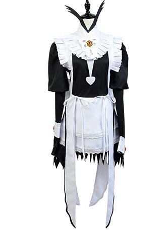 Anime Fire Emblem Fates Flora Maid Dress Suit Uniform Copslay Costume Women Girls Halloween Carnival Costume