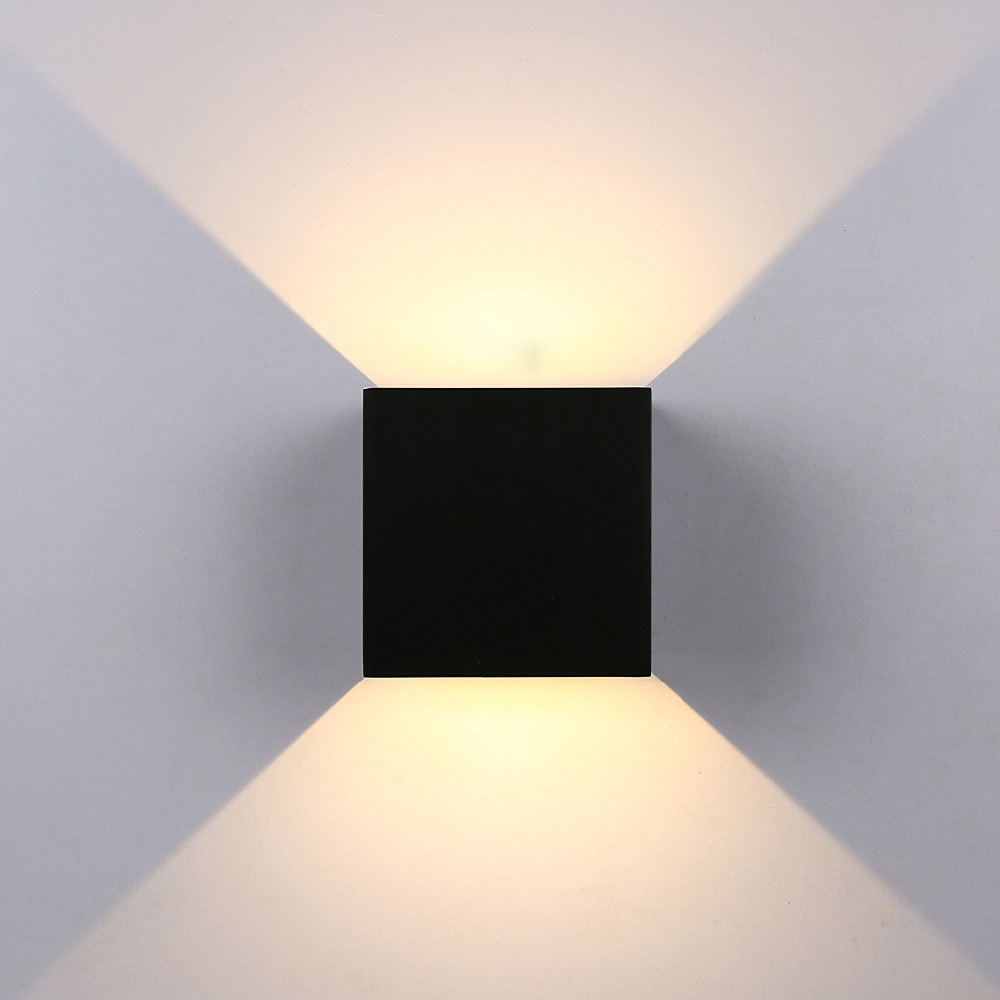 ip65 12 w breve moderno cubo ajustavel superficie montado ao ar livre luz conduzida parede 02