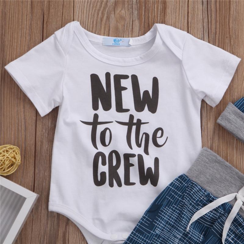 Canis Newborn Baby Boy Girl Clothes Jumpsuit Longsleeve Autumn Bodysuit +Long Pants +Hat Outfit 3Pcs Set 0-18M