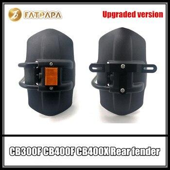 Upgraded version - Motorcycle License plate frame Night light Rear Fender FOR HONDA CB300F CB400F CB400X CB300 CB400 X F