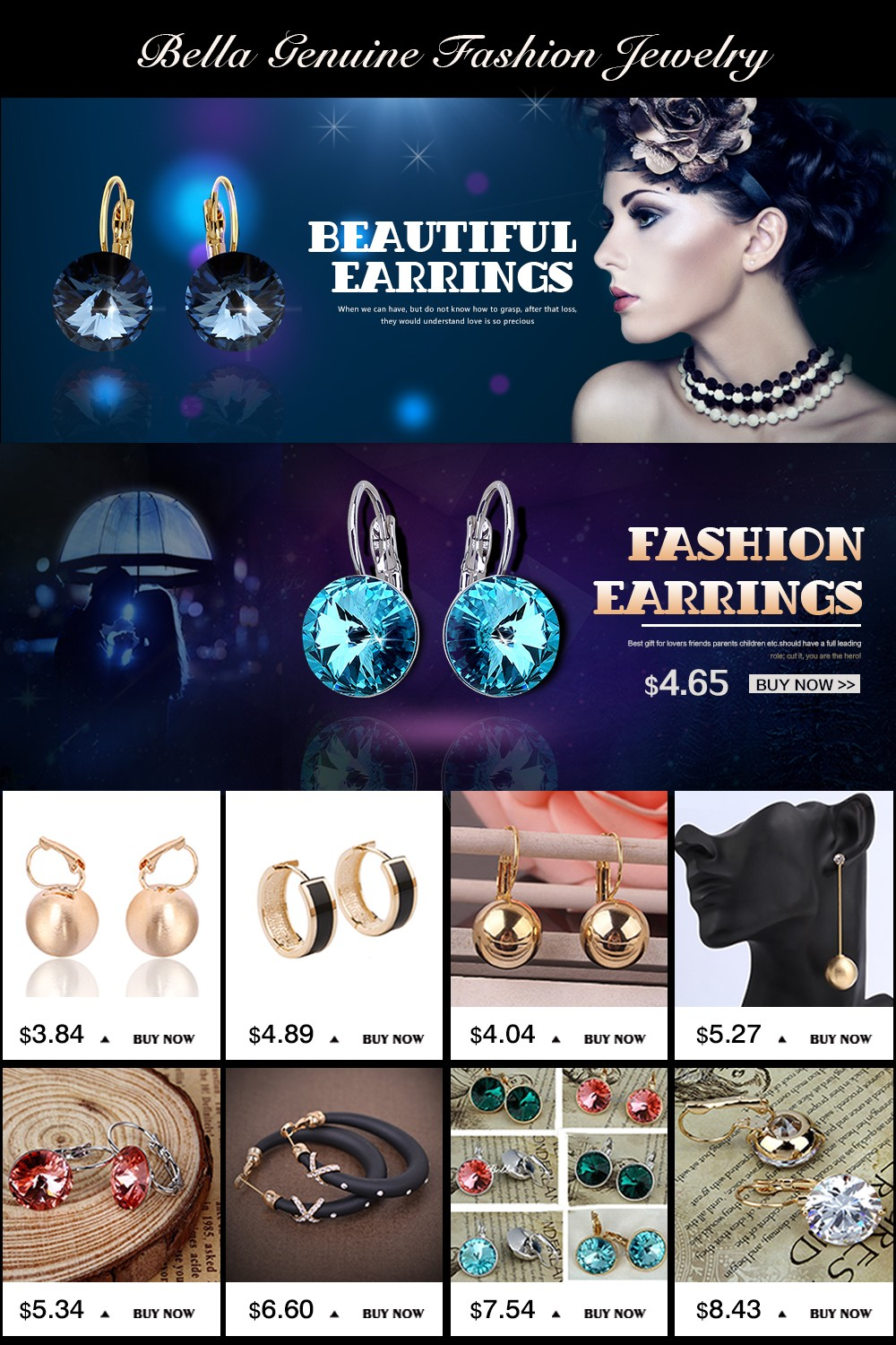 earrings model