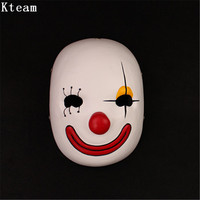 New Halloween Clown Mask Spirited Away No Face Male Anthropomorphic Mask Cosplay Dress Japanese Anime Black Purple Wind Props