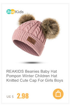 Dropwow REAKIDS Baby Beanie Hat For Girls Boys Infant Toddler Winter ... e1cf9b214ac6