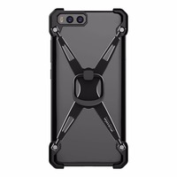 Xiaomi Mi 6 Barde Metal Case With Ring Holder Original NILLKIN Phone Stand Back Cover Case