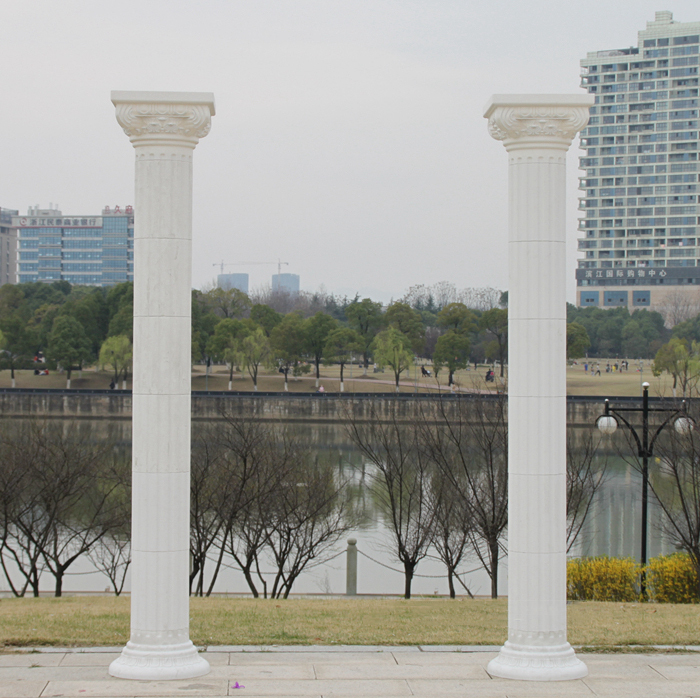 2m Height wedding Roman pillar wedding party decoration plastic roman column for wedding arrangement